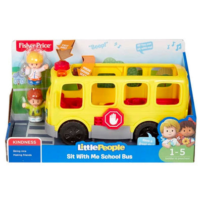 Fisher Price Skolebus Dansk Tale og Figurer