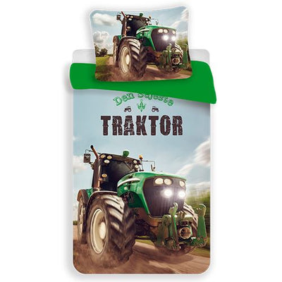 Traktor sengesæt JUNIOR
