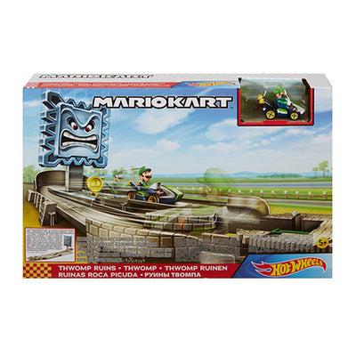 Hot Wheels Mariokart Trackset - Luigi