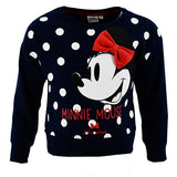 Minnie mouse sweatshirt med 3D sløjfe