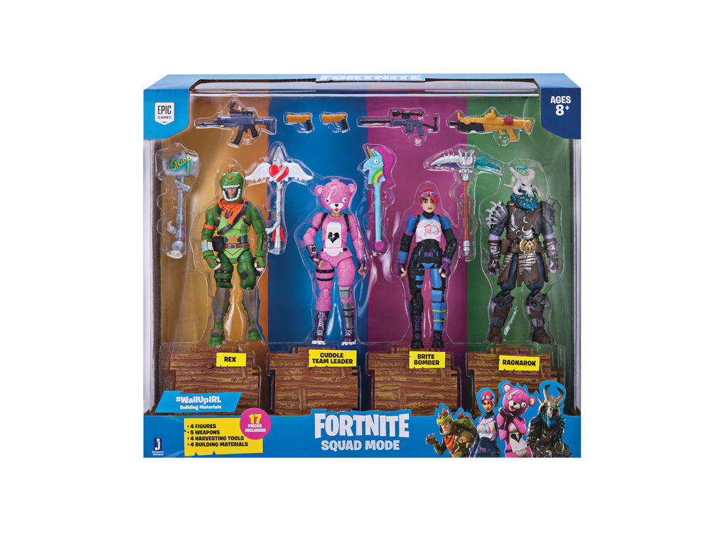 Fortnite Team 4-pack Legetøjsfigurer 11 cm