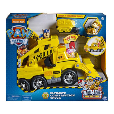 Paw Patrol Ultimate Construction Truck Ultimate Rescue med lys og lyd