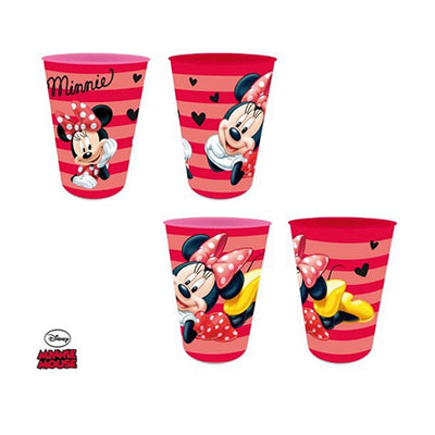 Minnie Mouse Krus 4 stk 330ML