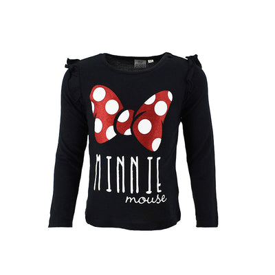 Minnie Mouse longsleeve - sort