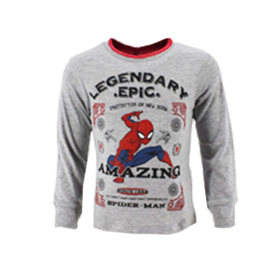 Spiderman longsleeve - grå