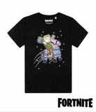 "Original Fortnite T-Shirt ""Riding Lama"""