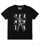 "Original Fortnite T-Shirt ""Skeleton Floss"""