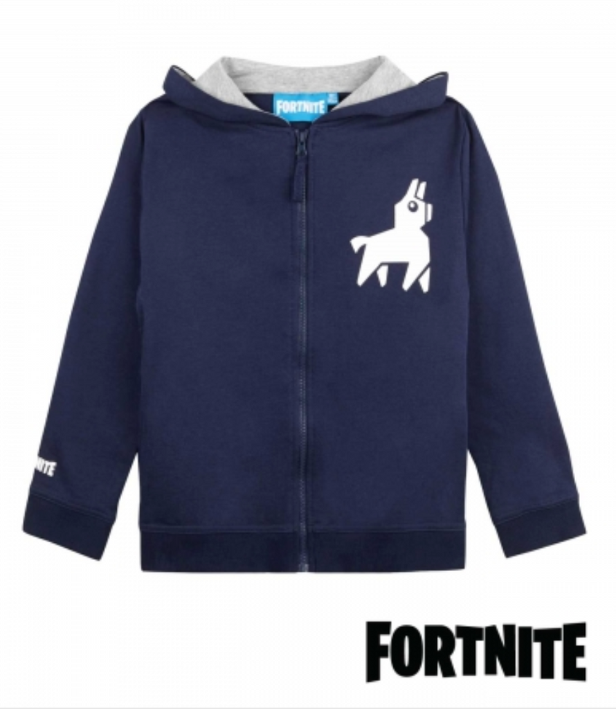 Original Fortnite Sweatshirt med lynlås