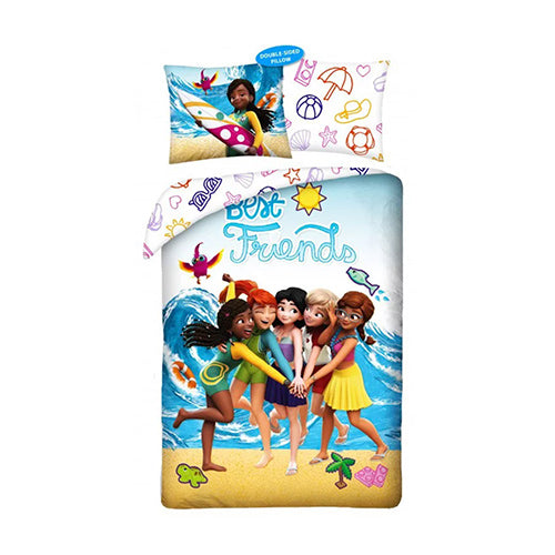 Lego Friends beach senior sengesæt i 100% bomuld