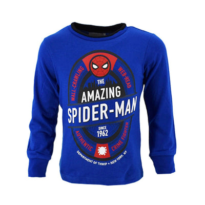 Spiderman Sweatshirt 3-8 år Blå
