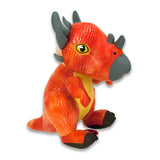 Original Jurassic World bamse 22 cm orange