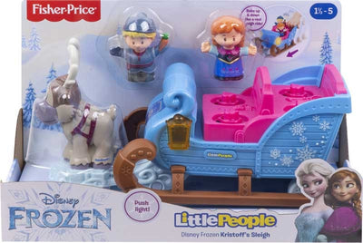 Little People Frozen Slæde med 3 Figurer Lys/Lyd