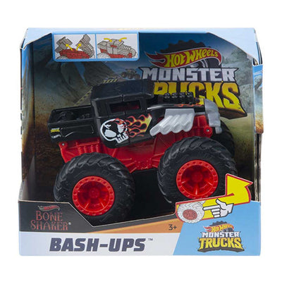 Hot Wheels optrækkelig monstertruck (Leveres assoteret)