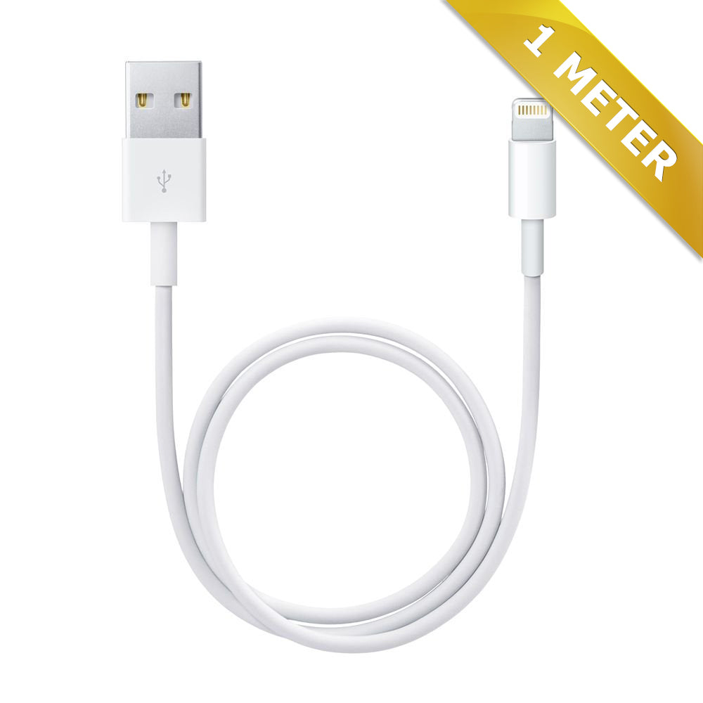 Lightning kabel til iPhone - 1 meter