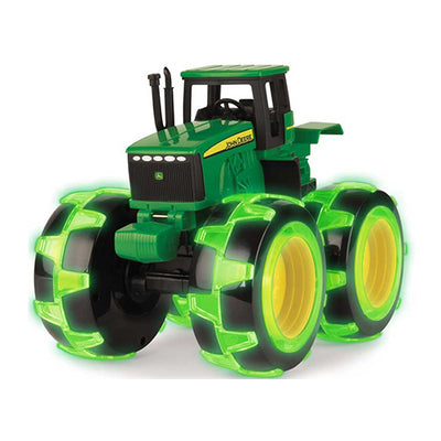 John deere monster wheel med LED lys