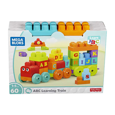 Fisher price mega blocks ABC lærings tog