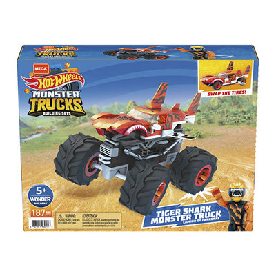 Hot Wheels Monstertruck tiger-haj byg selv