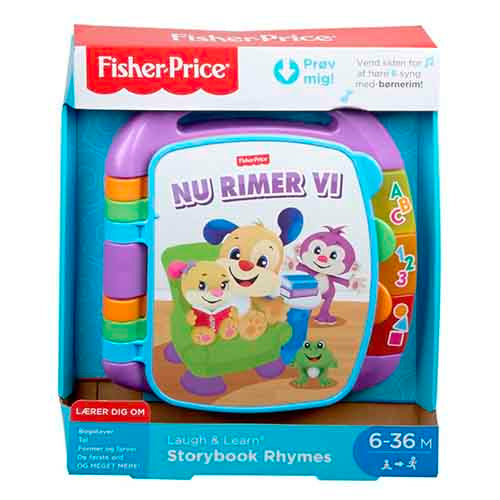 Fisher Price rimebog dansk børnesange og børnerim
