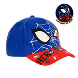 Spiderman kasket (Glow in the dark)
