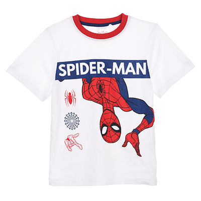 Spiderman T-Shirt & Shorts Sæt 3-8 år