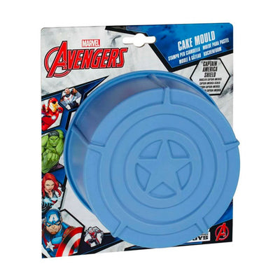 Avengers Silicone Bageform 28x28x5 cm