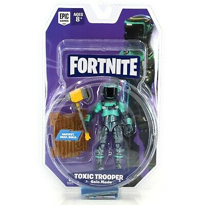 Fortnite toxic trooper figur med accessories