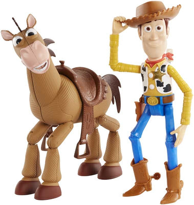 Toy Story Woody & Bullseye (stor model)