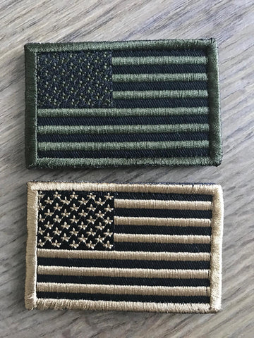 American Flag Patch - Patty Mayo