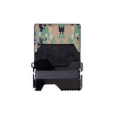 FOLDING TACTICAL WALLET - CAMO BLACK - Patty Mayo