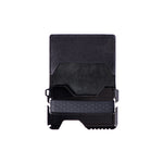 FOLDING TACTICAL WALLET - STEALTH BLACK - Patty Mayo