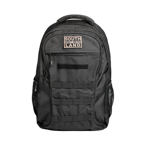 Large Tactical Backpack: Black - Patty Mayo