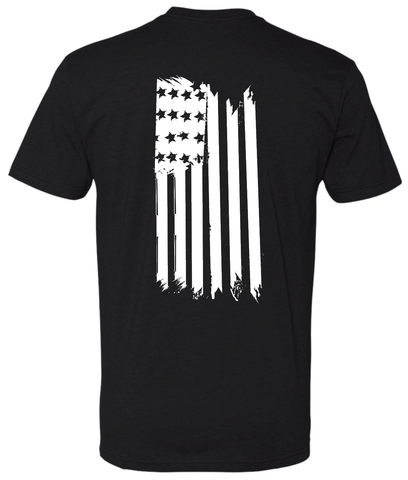 Flag Back Hanging TShirt - Patty Mayo