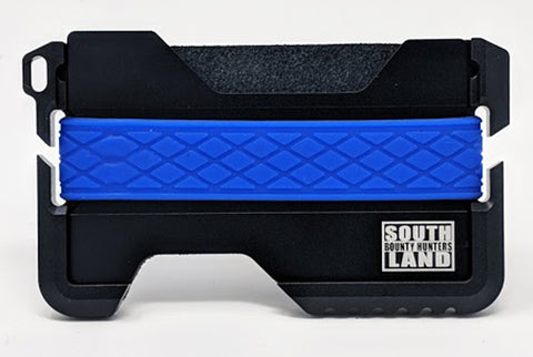 TACTICAL WALLET - BLUE LINE