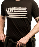 Flag Front TShirt - Patty Mayo