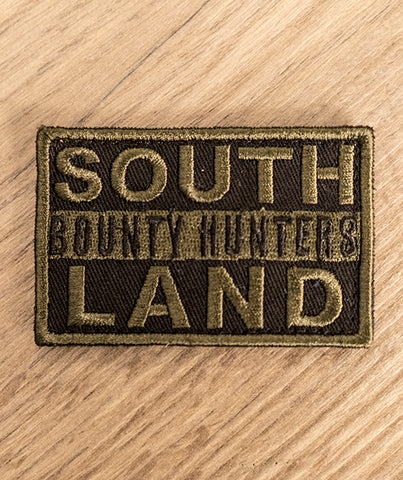 Southland Bounty Hunter Patch [OD GREEN] - Patty Mayo