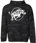 We the People Black Camo Hoodie