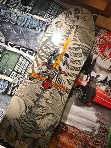 Powell Peralta Skull And Sword Deck 9.75