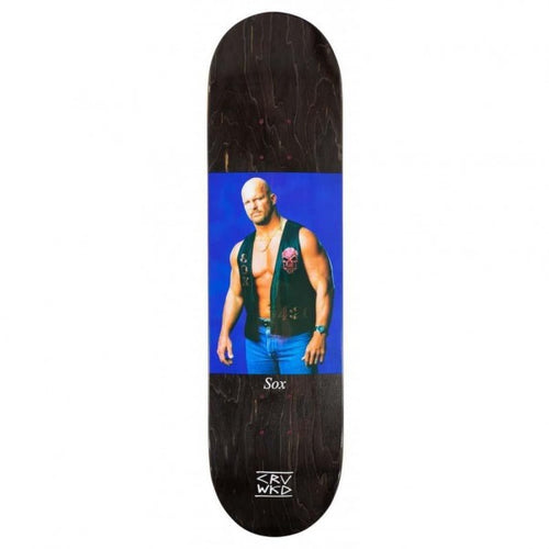 Carve Wicked Deck Stoned Cold Deck Black 8.0