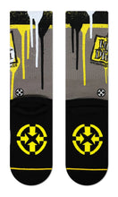 MERGE4 New Deal Napkin Logo Classic Crew Socks