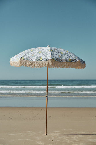 Native Ash Wood Pole Beach Umbrella PRE ORDER