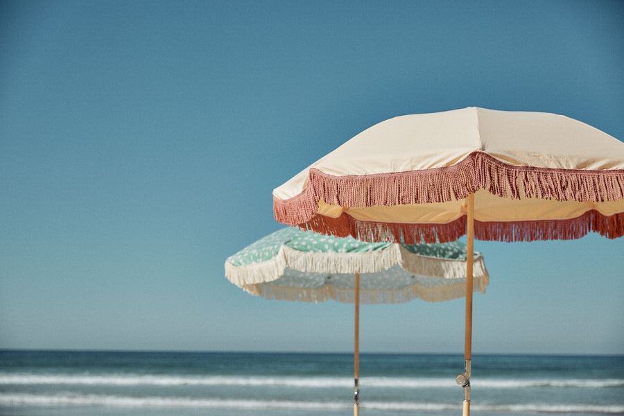 Blossom Ash Wood Beach Umbrella