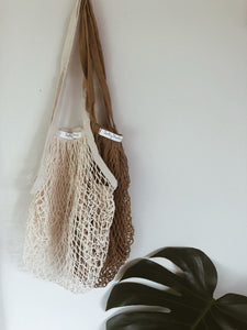 Organic Cotton String Bag (2 pack)