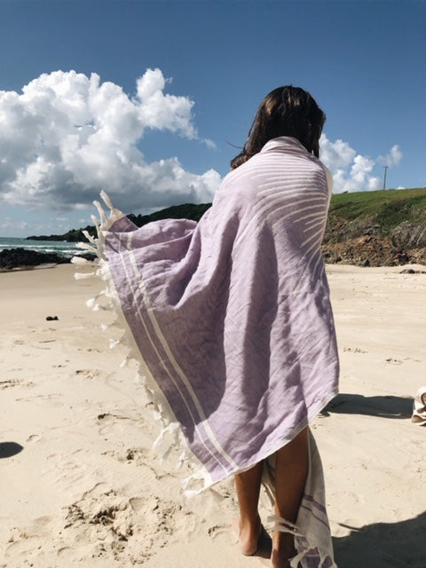 Jacquard weave Turkish Towel