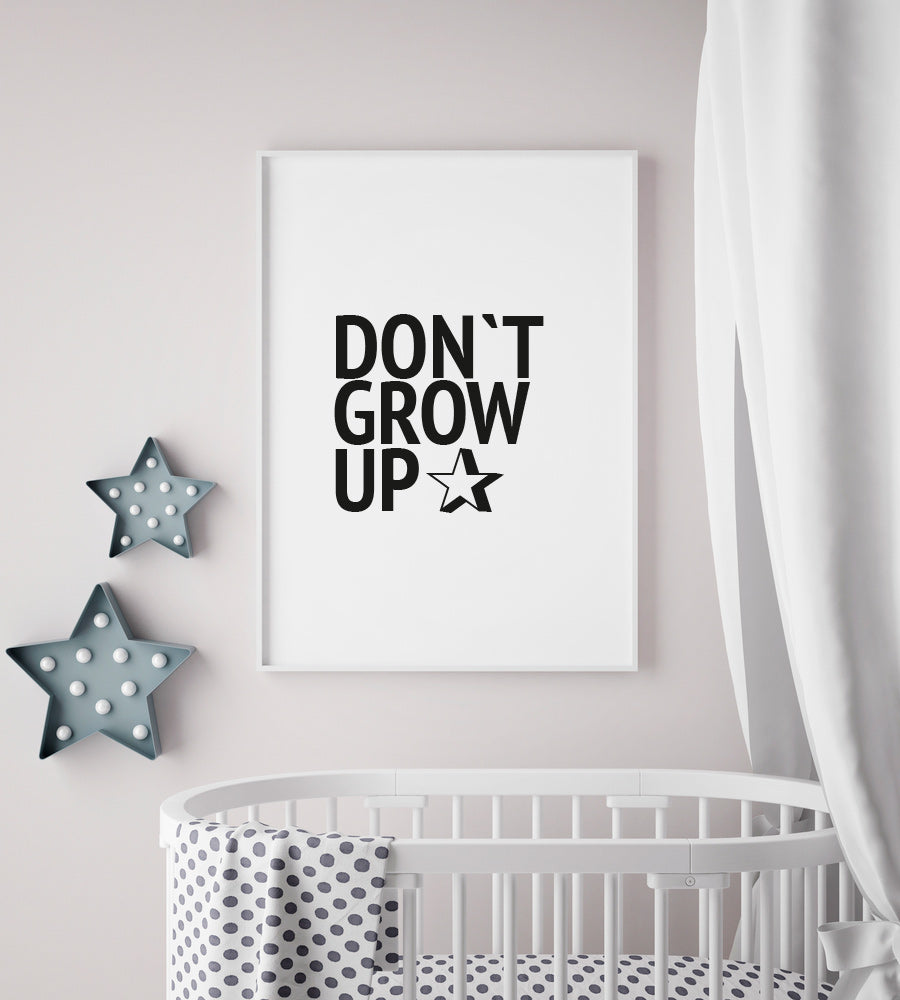 No.010 - Don`t Grow Up