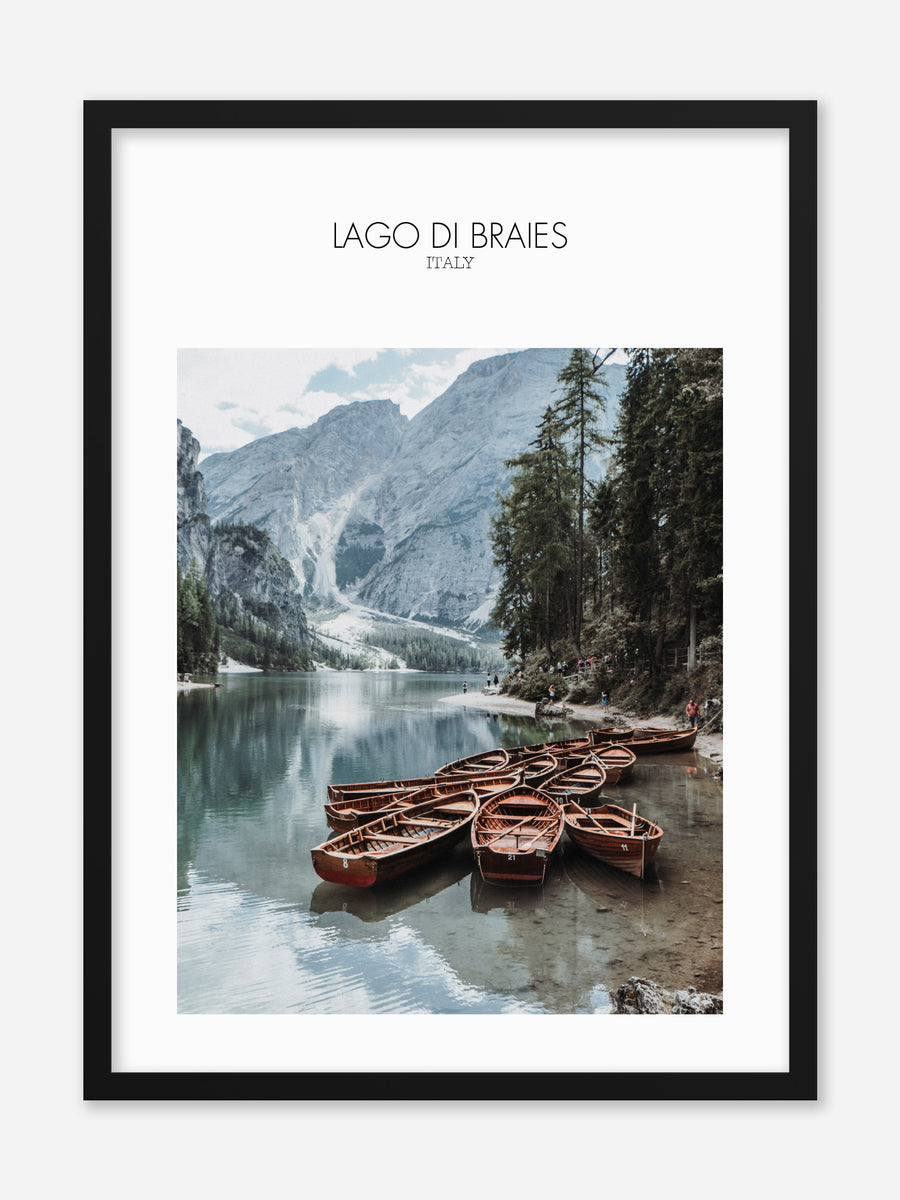 No.036 - Lago Di Braies