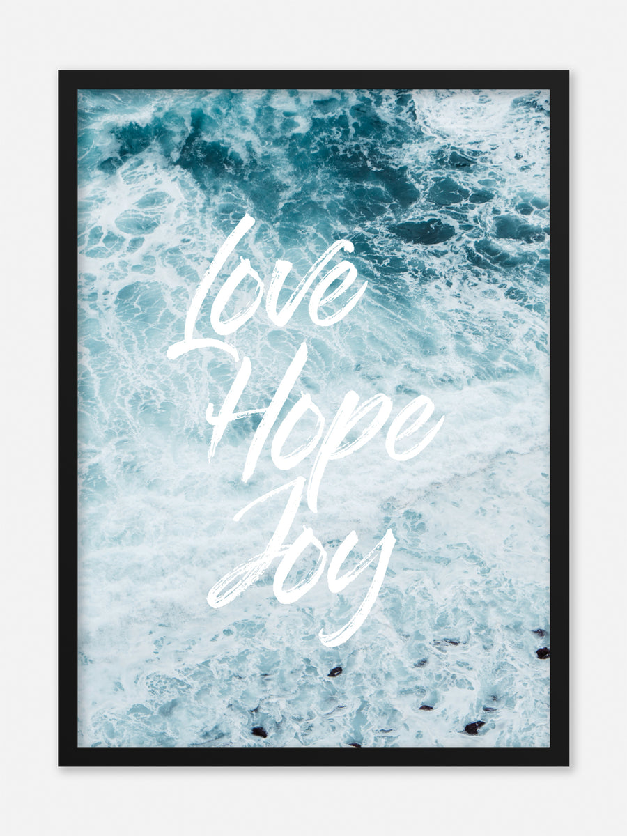 No.119 - Love, Hope, Joy