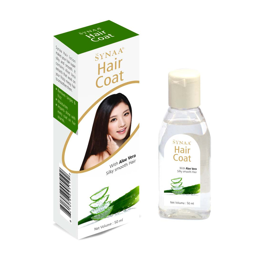 Synaa Hair Coat | Hair Serum with Aloe Vera, 50ml