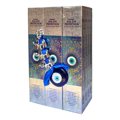 Evil Eye Protection - Flora Incense Sticks (Pack of 12)