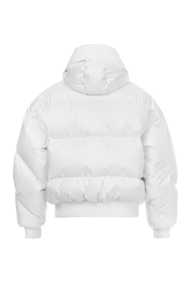 Ienki Ienki White Women's Puffer Coat