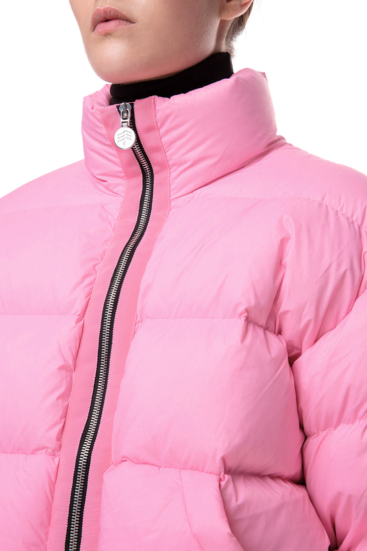 Ienki shortened puffer jacket Pink 2020
